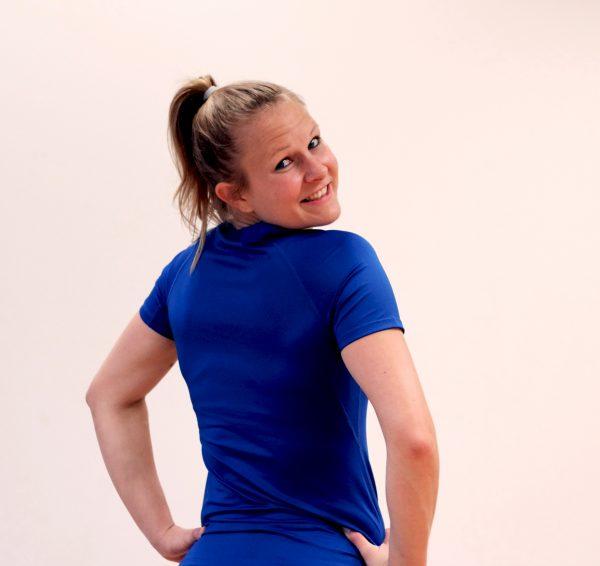 T-Shirt KIBO women blau